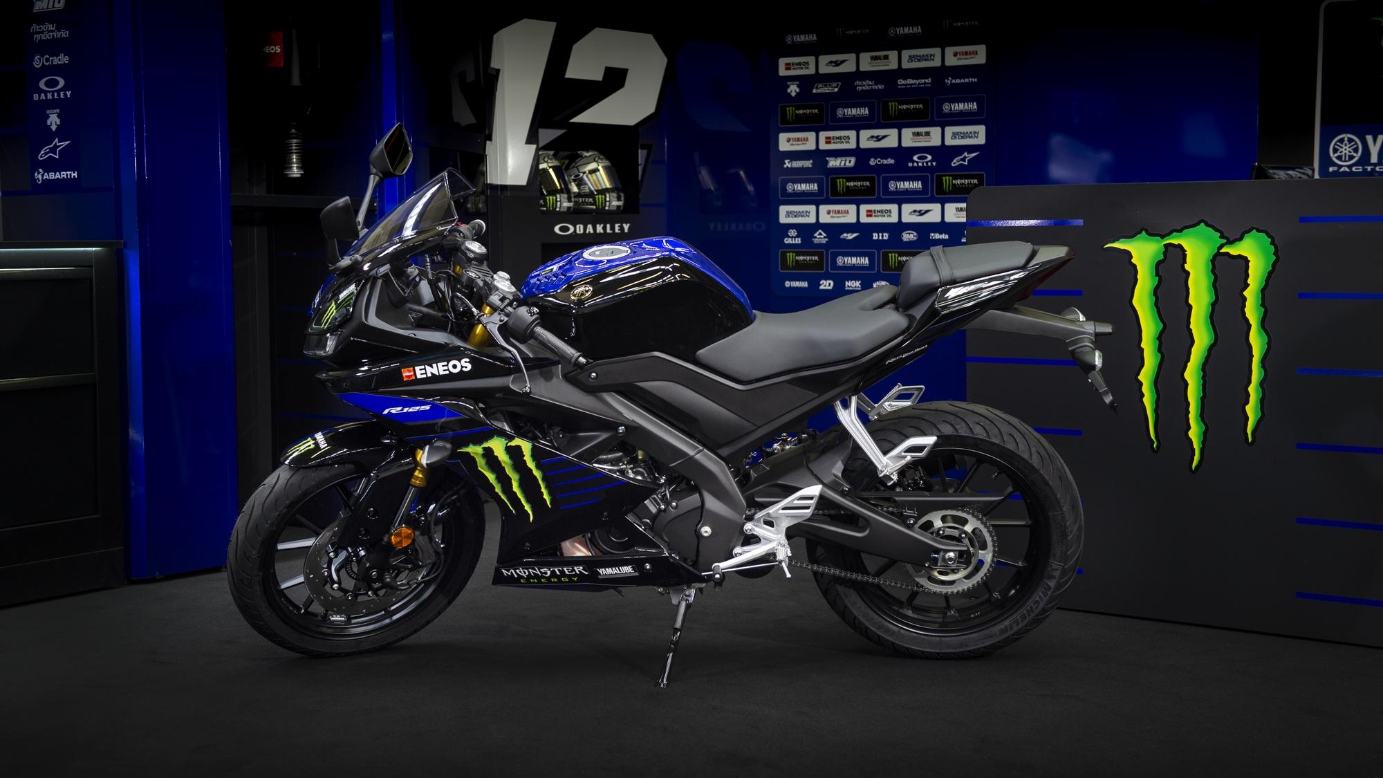 R125 Monster Energy Yamaha MotoGP Edition